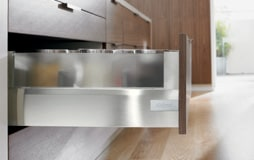 Blum Tandembox Stainless With Glass