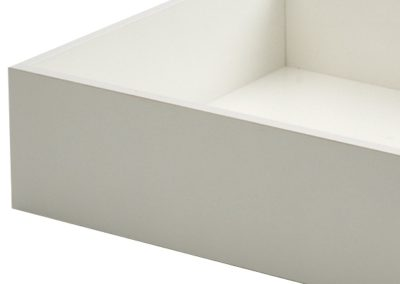 White Melamine Drawers Copy